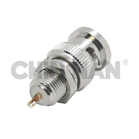 BNC Connectors - BNC Straight Bulkhead Plug Receptacle