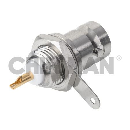 BNC Connectors - BNC Straight Bulkhead Jack Receptacle