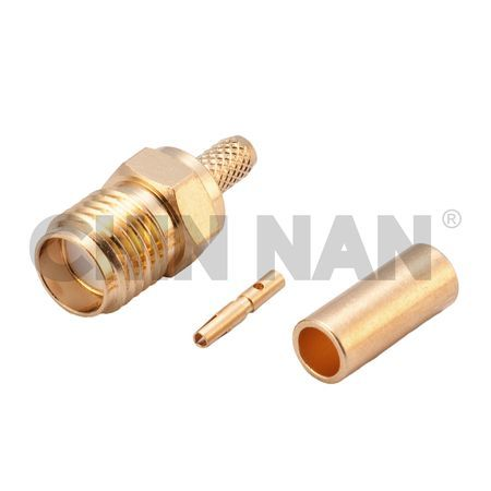 SMA Connectors - SMA Straight Jack Crimp for RG 174 or RG 316 or RG188 cable - SMA Straight Jack Crimp for RG 174 or RG 316 or RG188 cable