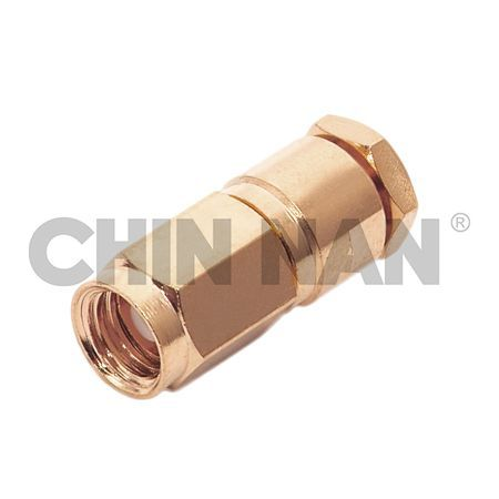 SMC Connectors -SMC Straight Plug Clamp for RG 174 or RG 316 or RG188 cable - smc straight plug clamp for rg 174 or rg 316 or rg188 cable