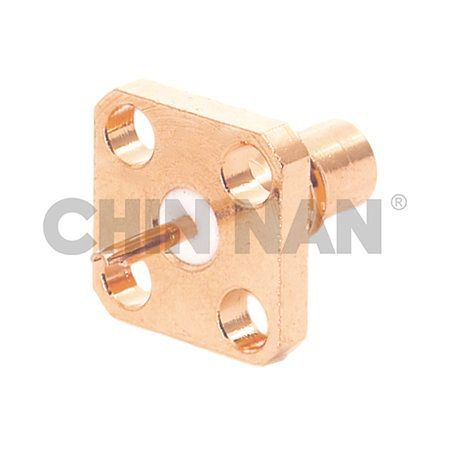 SMC Connectors - SMC Square Flange Jack Receptacle - smc square flange jack receptacle