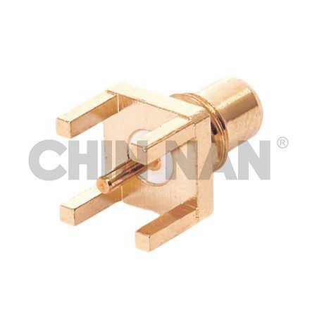 SMC Straight PCB Mount Jack Receptacle - SMC Straight PCB Mount Jack Receptacle