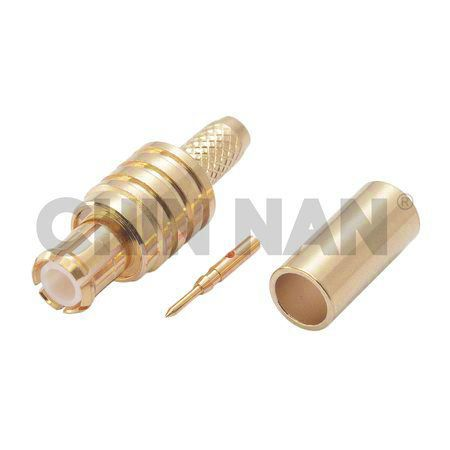Enchufe recto MCX Crimp para cable RG 174 o RG 316 o RG188 - Enchufe recto MCX Crimp para cable RG 174 o RG 316 o RG188
