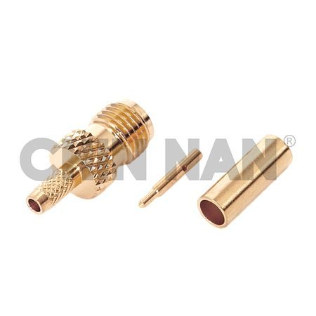 Reverse Polarity Connector SMA Straight Jack Crimp for RG 58 or 141A/U cable - Reverse Polarity Connector SMA Straight Jack Crimp for RG 58 or 141A/U cable