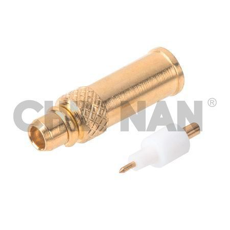 "MMCX Straight Plug Solder for UT.047"" cable - MMCX Straight Plug Solder for UT.047"" cable"