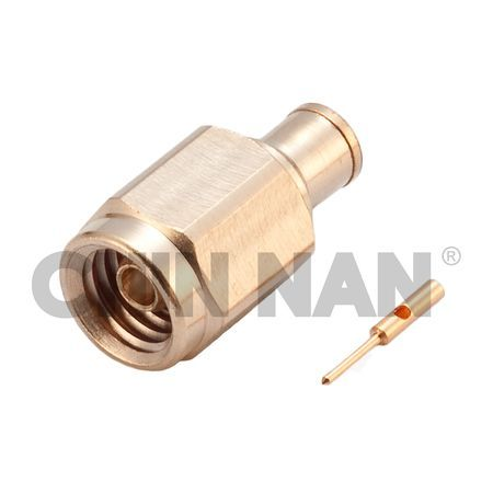 "Anti-Vibration Straight MMCX Plug Solder for UT.047"" cable - Anti-Vibration Straight MMCX Plug Solder for UT.047"" cable"