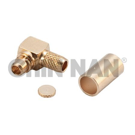 MMCX Right Angle Plug Crimp for RG 174 or RG 316 or RG188 cable - MMCX Right Angle Plug Crimp for RG 174 or RG 316 or RG188 cable