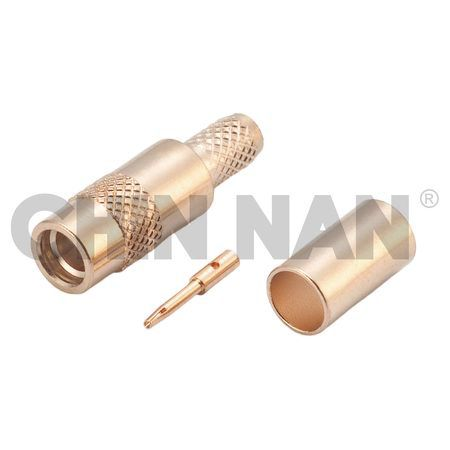 MMCX Connectors - MMCX Straight Jack Crimp for RG 174 or RG 316 or RG188 cable - mmcx jack connector for rg 174 or rg 316 or rg188 cable