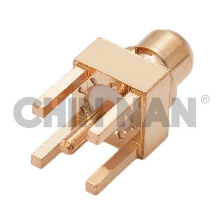 MMCX Straight PCB Mount Plug Receptacle