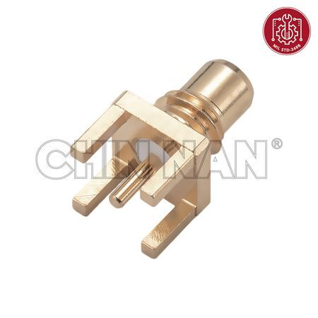 SMC Connectors - SMC Straight PCB Mount Jack Receptacle - smc straight pcb mount jack receptacle