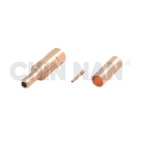 SSMB Connectors - SSMB Straight Plug Crimp for RG 174 or RG 316 or RG188 cable - SSMB Straight Plug Crimp for RG 174 or RG 316 or RG188 cable