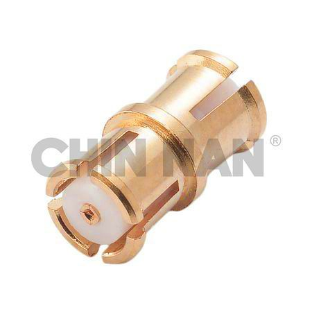 Straight SMP Jack - Jack Coaxial Adapter - Straight SMP Jack - Jack Coaxial Adapter