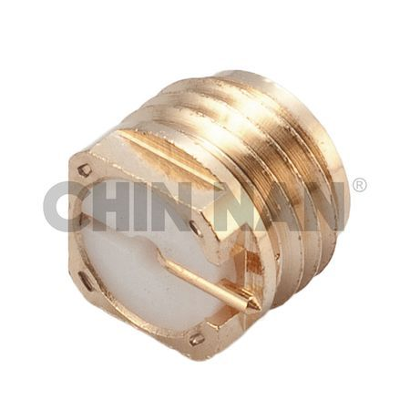 Anti-Vibration Straight SMP Surface Mount Plug Receptacle - Anti-Vibration Straight SMP Surface Mount Plug Receptacle