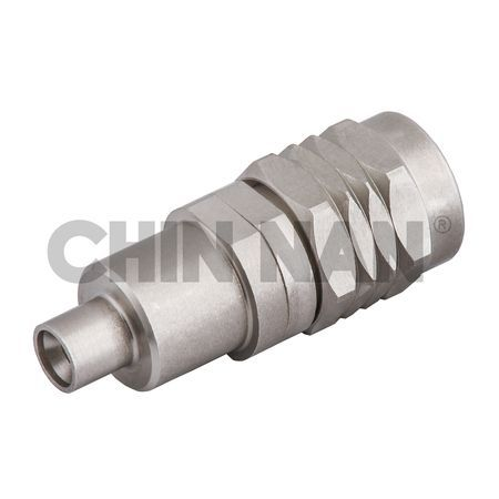 Rechte SMPM-connector Volledig arreterende plug-1,85 mm plug-adapter - rechte smpm connector volledige arreteer plug-1,85 mm plug adapter