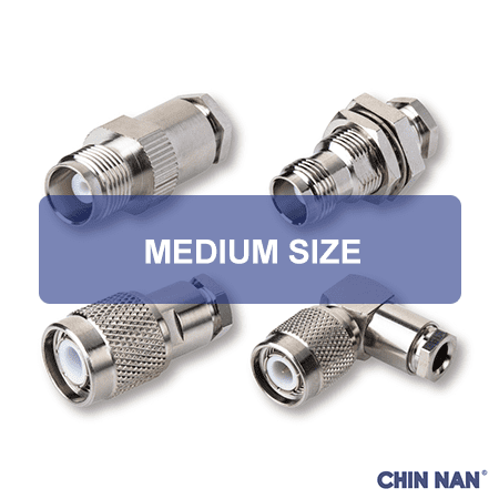 MINIATURE - MEDIUM SIZE CONNECTORS