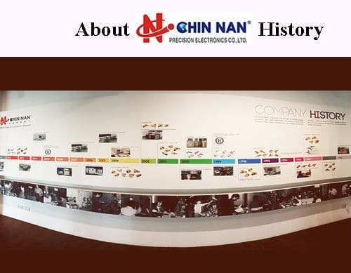 "About ""CHIN NAN"" History"
