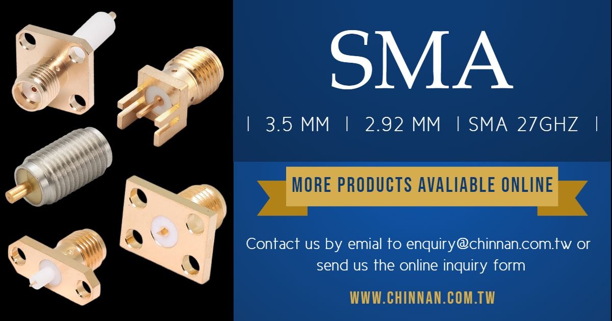 SMA-2.92mm, 3.5mm and SMA 27 GHZ