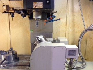 Introduction - 4 axle CNC Helix Machining Equipment - . The Whole Working Base (1)