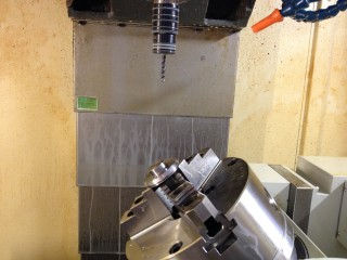 Introduction - 4 axle CNC Helix Machining Equipment - . The Whole Working Base (2)