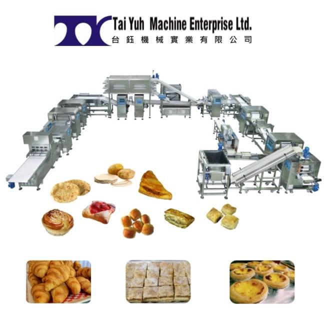 स्वचालित पफ पेस्ट्री मशीन - स्वचालित पफ पेस्ट्री बनाने की मशीन
