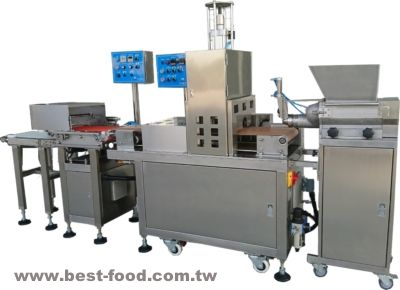 रोस्ट डक रैपर मेकिंग मशीन