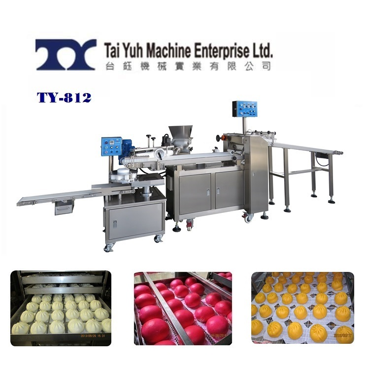 Stuffed Bun Making Machine - Steamed Bun Making Machine