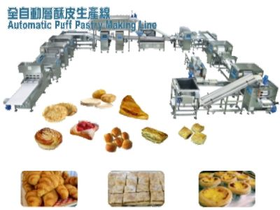 Automatic Puff Pastry Making Line
