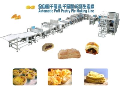 Automatic Layered Pie/Tart Making Line