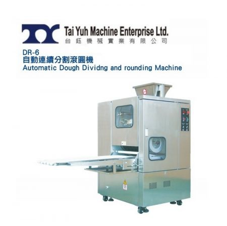 Automatic Dough Dividing and Rounding Machine