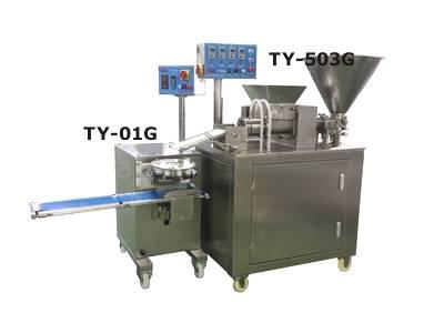 Máquina de hacer bolas de masa hervida - Máquina de descarga