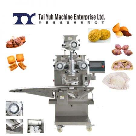 स्वचालित एनक्रेस्टिंग मशीन (ट्रिपल फिलिंग) - स्वचालित encrusting मशीन