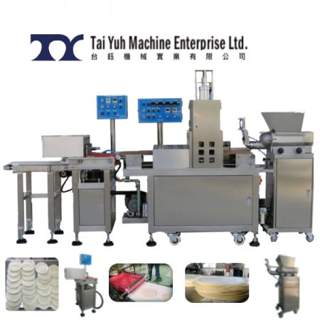Roast Duck Wrapper Making Machine