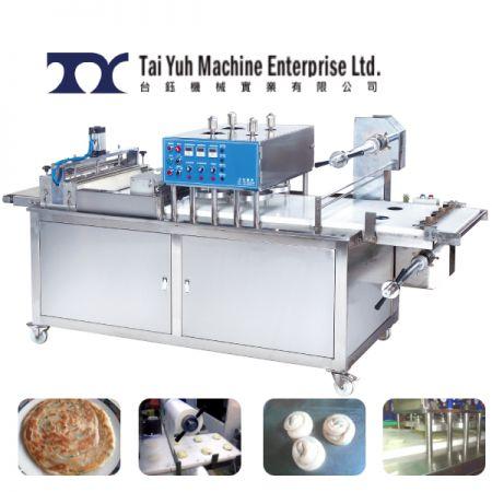 Paratha pressing Machine - Paratha Filming and Pressing Machine