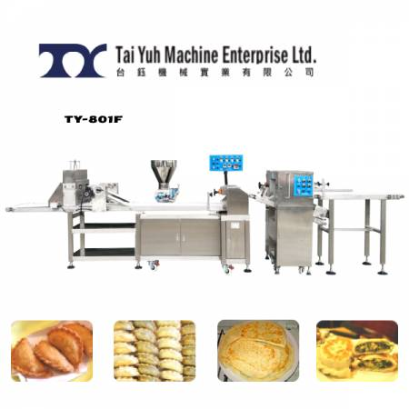 Calzone/Puff Pie Making machine - Calzone and puff pie making machine