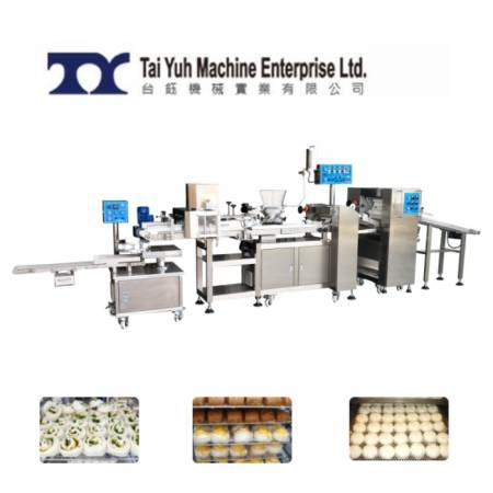 Automatic Steamed Bun Stuffing and Making Machine - Taiwan made steamed bun machine
