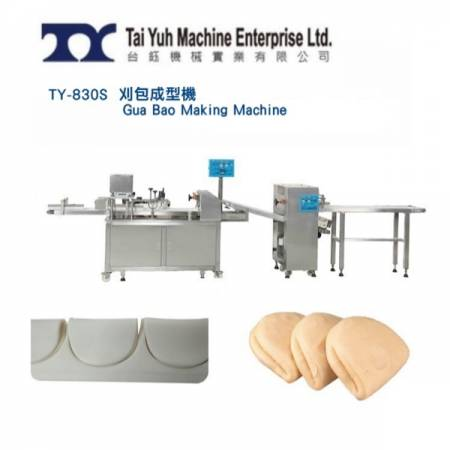 Gua bao making machine - Automatic gua bao making machine