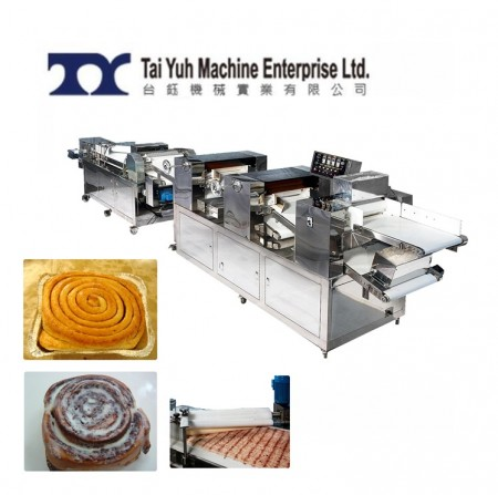 Mesin Pembuat Roti Cinnamon Roll - Cinnamon Roll, roti