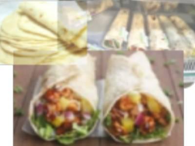 墨西哥餅皮生產線 - 墨西哥餅/印度烤餅機