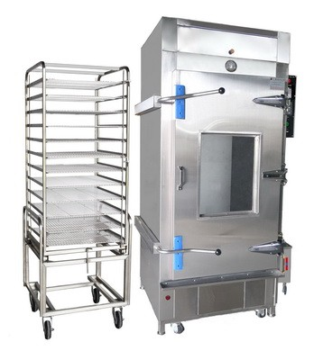 Bun Steamer - cabinet type bun steamer