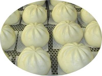 Машина для приготовления булочек на пару (см. Подробнее) - Фаршированная булочка