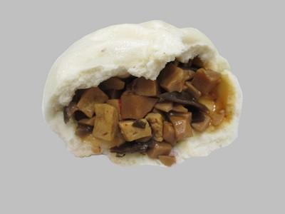 素食杏鮑菇包vegetarian pleurotus bun