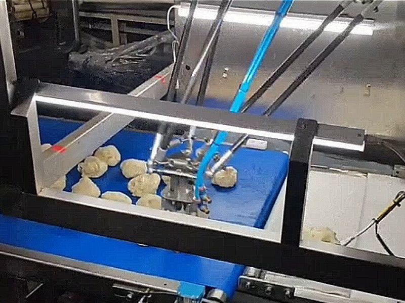 रोबोटिक आर्म इंटीग्रेटेड TY-788 फिल्मिंग और प्रेसिंग मशीन