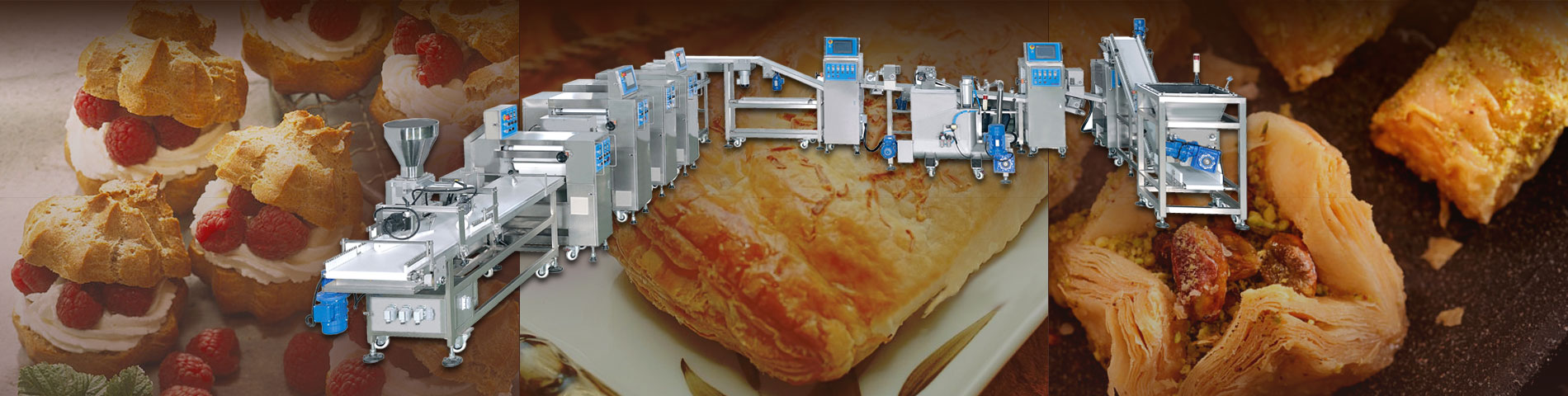 Puff Pastry TY3000L pastry machine