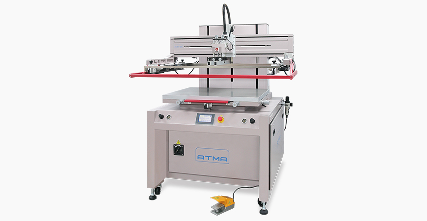 Electric flat screen printer AT-80P is suitable for screen printing on flexible or rigid material flat sheet such as Membrane Switch, Flexible Printer Circuits, Nameplate, Signage, Safety Security Card, Automotive Dashboard, Engine Gasket, Transfer Paper, Electro-luminescent, etcindustrial products.