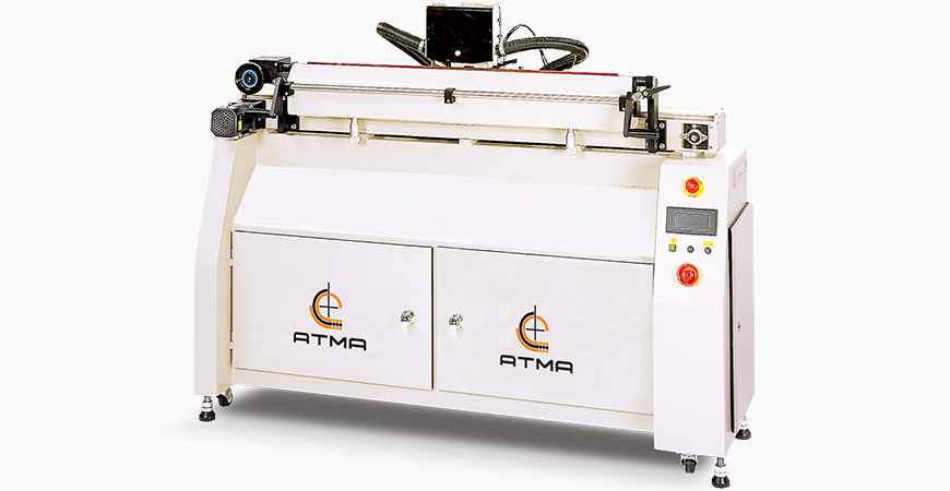 Digital-controlled Fully Automatic type, dual fineness diamond wheel for fast and fine grinding, ensures printing quality.