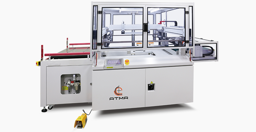 Complete table top is covered by magnets to facilitate strong fixation various different type or patterns of gasket to prevent displacement while printing to assure printing accuracy.