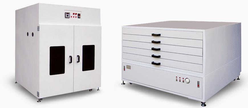 Screen Stencil Dryer, vertical type / horizontal type
