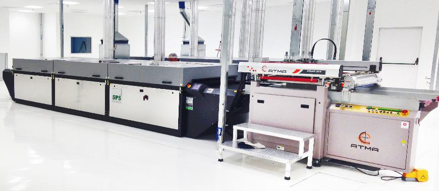ATMA 3/4 Automatic Screen Printing Line