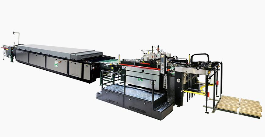 SPS高速全自動シリンダースクリーン印刷ライン