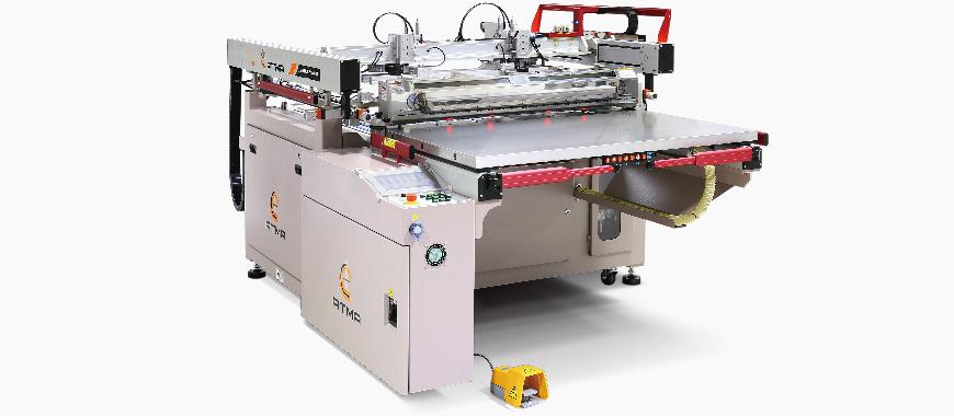 מדפסת מסך הזזה ATMA בעלת ארבעה פוסטים